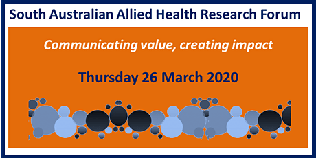 South Australian Allied Health Research Forum 2020 tickets