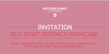Western Sydney University Sport Research Showcase tickets