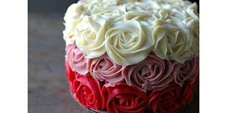 Ombre Rose Cake Class (02-08-2020 starts at 1:00 PM) tickets