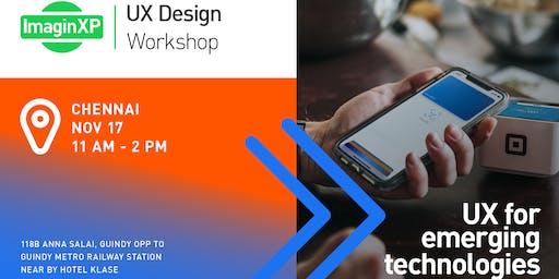ImaginXP: UX Design Workshop in Chennai