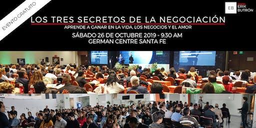 Los 3 Secretos de La Negociación GRATIS - German Centre - 26 Octubre