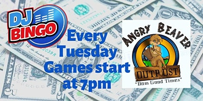 Play DJ Bingo FREE In Silver Springs - Angry Beaver Outpost