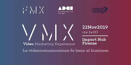 Video Marketing eXperience by FMX biglietti