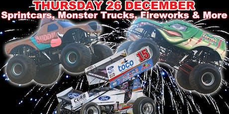 Monster Trucks, Sprintcars - BOXING Night Spectacular! tickets