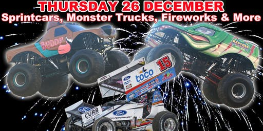 Monster Trucks, Sprintcars - BOXING Night Spectacular!