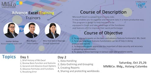 Advanced Excel - Day 1