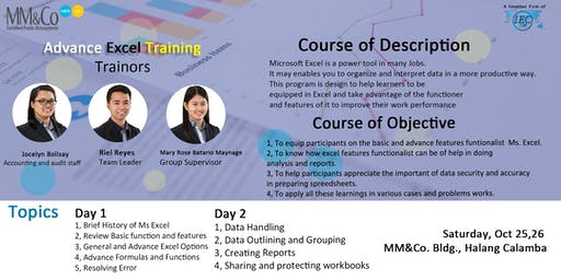 Advanced Excel - Day 2