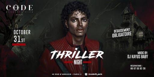 Thriller Night & Halloween Costume Party