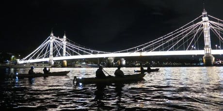 Night Bus ( Kayaking Battersea to Greenwich by night). tickets