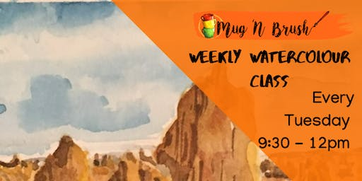 Weekly Watercolour CLasses