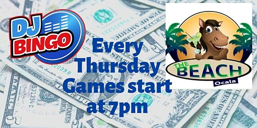 Play DJ Bingo FREE In Ocala - The Beach Ocala