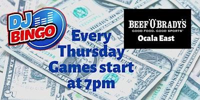 Play DJ Bingo FREE In Ocala - Beef 'O'Brady's Ocala East