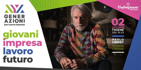 GENERAZIONI - Incontro con Paolo Crepet biglietti