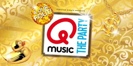 Qmusic the Party - 4uur FOUT! in Leidschendam (Zuid-Holland) 31-10-2020 tickets