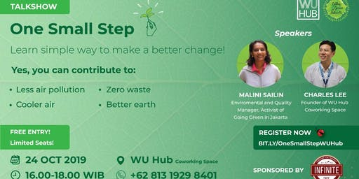 ONE SMALL STEP - Going Green Movement Talkshow
