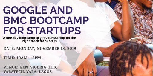 Google and BMC Bootcamp for Startup
