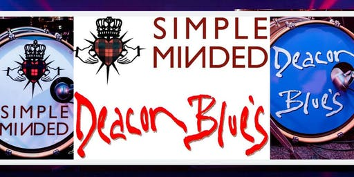 RESERVED ON THE DOOR - Simple Minded + Deacon Blues