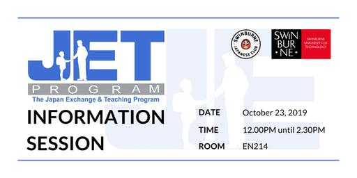 JET Programme Information Session [Swinburne Unive