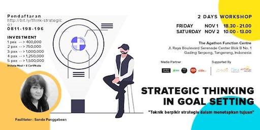 2 Days Workshop - Strategic Thinking In Goal Setting
