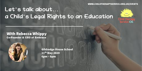 A Child's Legal Rights to an Education tickets