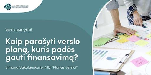 Kaip parašyti verslo planą, kuris padės gauti finansavimą?