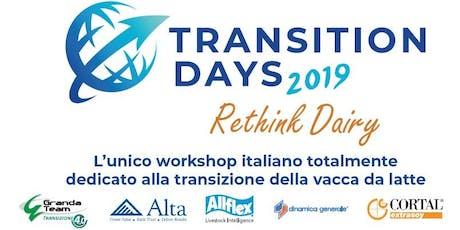 Transition Days 2019 Codogno biglietti