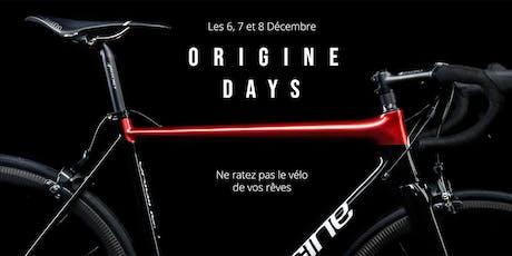Origine Days #1 billets