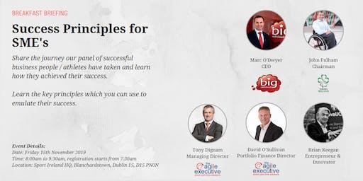 Success Principles for SME's