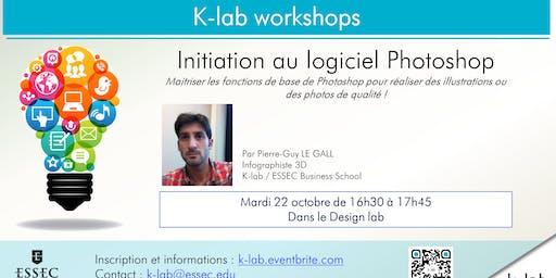 K-lab workshops - Initiation au logiciel Photoshop - Reserved MS MMD