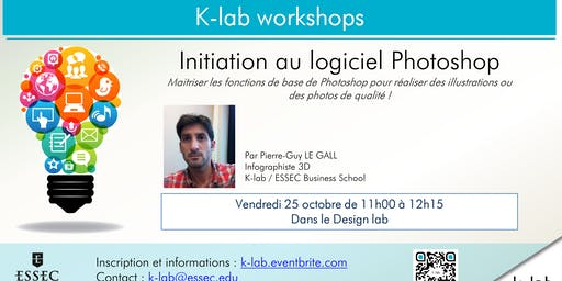 K-lab workshops - Initiation au logiciel Photoshop - Reserved