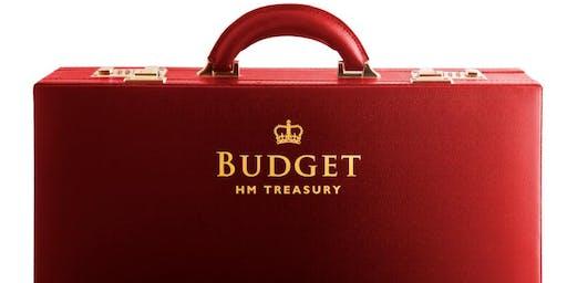 Thompson Jenner LLP Budget breakfast briefing 2019