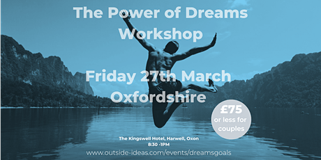 The Power of Dreams Workshop - March 2020 tickets