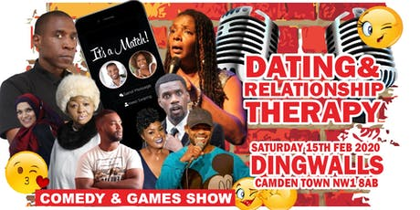 Dating and Relationship Therapy Comedy Show  (Lon) tickets