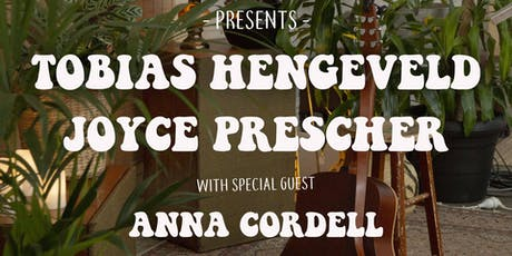 Sonorous Sessions ft. Tobias Hengeveld, Joyce Prescher & Anna Cordell tickets