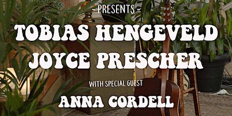 Sonorous Sessions ft. Tobias Hengeveld, Joyce Prescher & Anna Cordell tickets