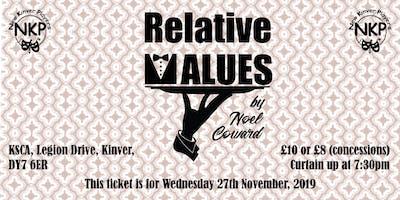 Relative Values - Wednesday performance