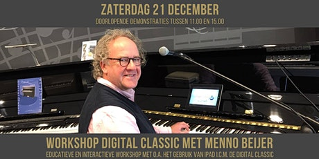 Workshop Digital Classic (digitale piano) met Menno Beijer | gebruik van apps tickets