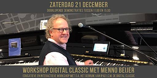 Workshop Digital Classic (digitale piano) met Menno Beijer | gebruik van apps