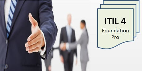 ITIL 4 Foundation – Pro 2 Days Virtual Live Training in Brampton (Weekend) tickets