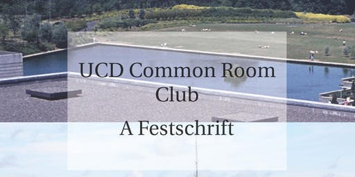 Book Launch -  Common Room Club - A Festschrift