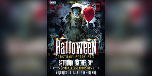 Halloween Bash pt. 2 - $5 before 10:30PM ticket