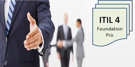 ITIL 4 Foundation – Pro 2 Days Virtual Live Training in Hamilton (Weekend) tickets