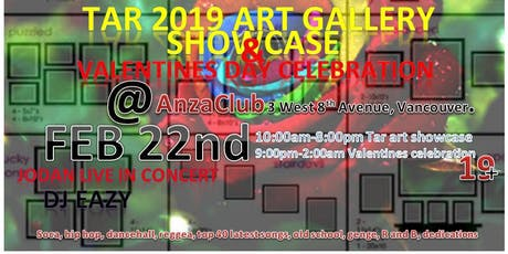 My 2019 art-gallery showcase / Valentines day. tickets