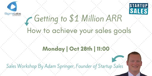 Getting to $1 Million ARR - How to achieve your sales goals