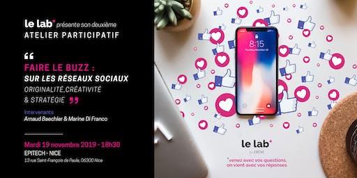Le Lab* by ébène - FAIRE LE BUZZ / 19.11.19
