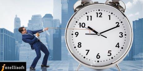 Time Management Skills Workshop on 8 Jan 2020, Singapore tickets
