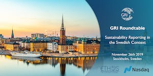 GRI Roundtable – Sustainability Reporting in the...