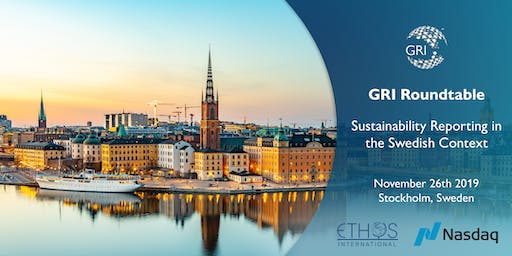 GRI Roundtable – Sustainability Reporting in the Swedish Context