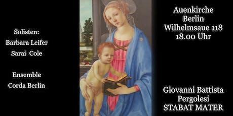 Stabat Mater von  Giovanni Battista Pergolesi Tickets