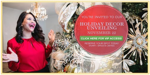 Holiday Unveiling at Village Antiques -Saturday December 7th!